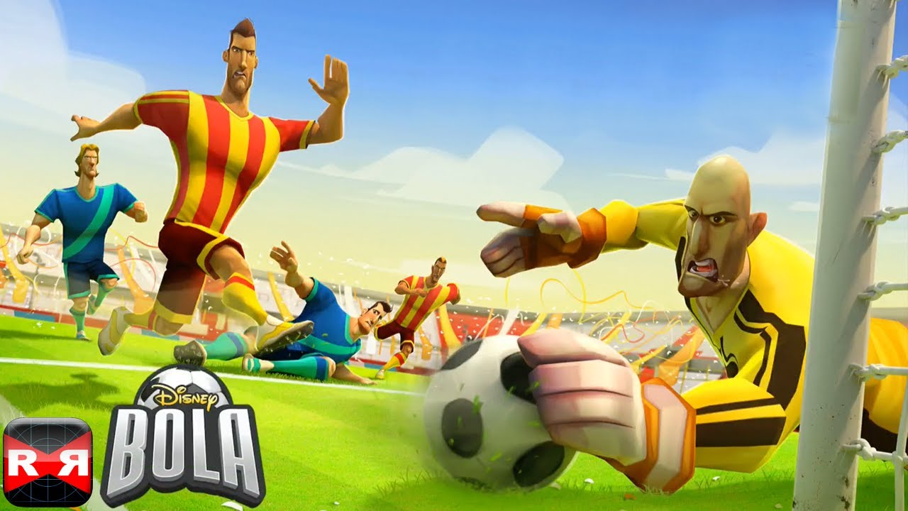 Disney Bola Soccer By Disney IOS IPhone IPad IPod Uch Gameplay