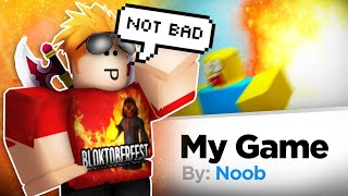 Playing YOUR ROBLOX Games!