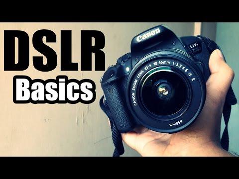 DSLR Basics - How to use a DSLR Camera   Galaxy J7 vs Canon 700D