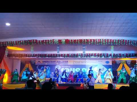 Bhangra on Pryaas 2018 at Acet in Amritsar