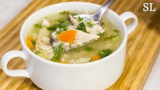 Супчик дня. Куриный суп. Просто и Вкусно. Рецепт.