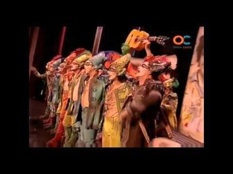 Comparsa La Banda del Capitán Veneno (2008) pasodoble ''Si hay un hisno precioso''
