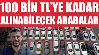 100 Bin TL'ye Kadar 2. El Araba Ne Alınır?