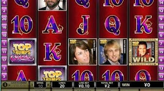 Top trumps celebs free games - playtech slot game