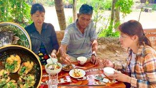 Vlog 85 Cá Kho Nồi Đất Với Canh Chua Cho Bữa Cơm Chiều -VIETNAMESE MEKONG FOODS  HTD Vlog