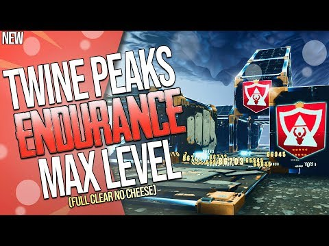 FORTNITE | TWINE PEAKS MAX LEVEL ENDURANCE : FULL CLEAR | The LEGIT HARDEST Content In Game!