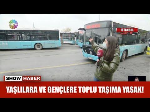 Yaşlılara ve gençlere toplu taşıma yasak!