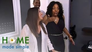 Before-and-after Writer's Block Reveal | Home Made Simple | Oprah Winfrey Network