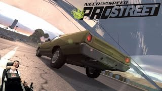 Американское ведрище - Plymouth Road Runner Need for Speed: ProStreet на руле Fanatec CSL Elite
