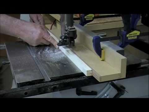 Woodworking - Band Saw Rip Fence - Work Safe Skills