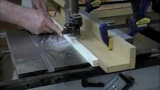 Woodworking - Band Saw Rip Fence - Work Safe Skills & Techniques