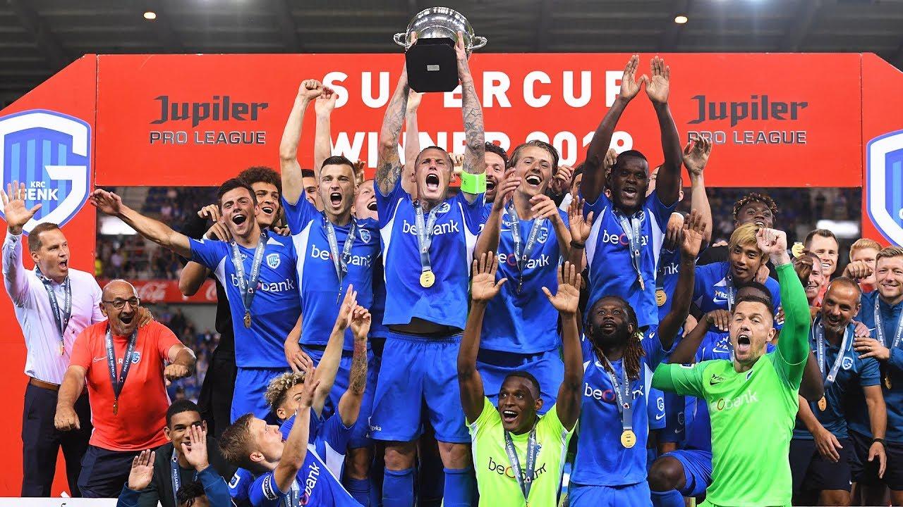 KRC Genk wint de Supercup 2019 - YouTube