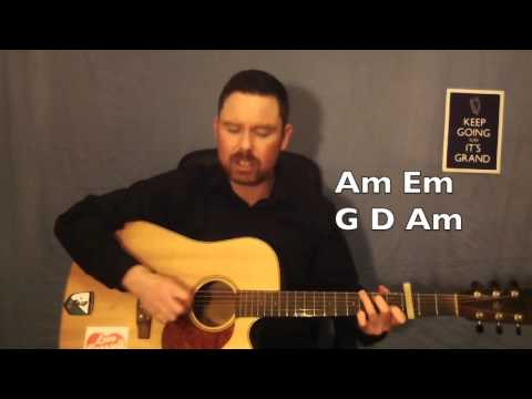 Back Home in Derry Guitar Lesson