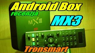 AndroidBox MX3 - Przystawka SmartTV 4K, Tronsmart MX III
