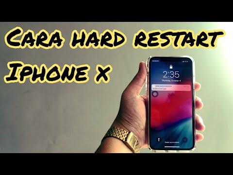 CARA MUDAH HARD RESTART IPHONE X - HOW TO RESTART IPHONE X.