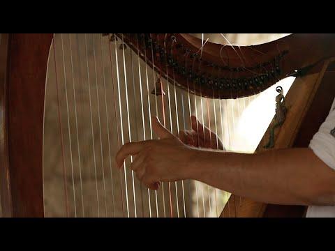 Alizbar. Celtic Harp. Moon Pastoral.