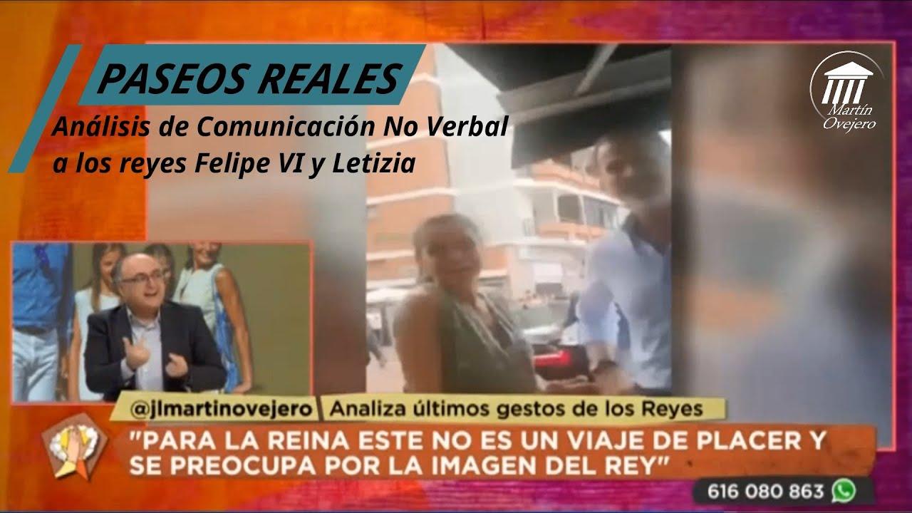 ANÁLISIS NO VERBAL DE PASEOS REALES