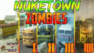 """The COMPLETE History of """"NUKETOWN ZOMBIES!"""" (Black Ops 4 - WaW)"""