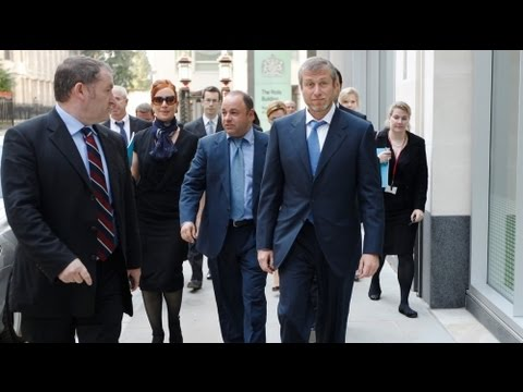 Duelo de magnates rusos en Londres