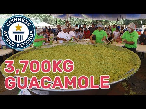 Largest guacamole – Guinness World Records