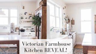 Victorian Farmhouse Kitchen REVEAL!