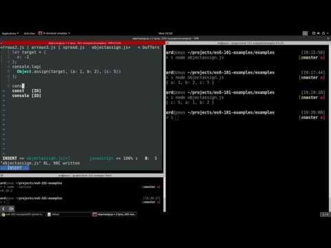 ES6 JavaScript Object.assign() explained