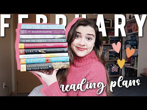 February TBR + exciting book club announcement!