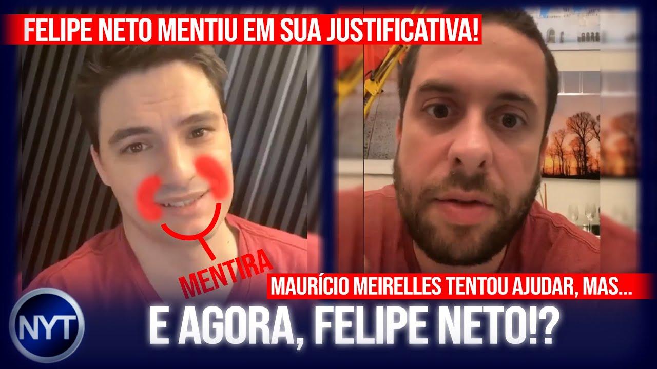 @Felipe Neto MENTE na cara dura ao tentar justificar vídeo dele na balada - DESMASCARADO!