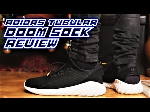 best cheap 8ebe5 168b1 ADIDAS NINJA SHOES! Adidas TUBULAR DOOM SOCK Review and On-Feet