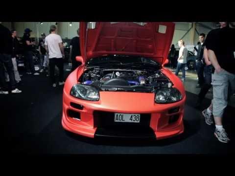 Superior Media - Toyota Supra Matte Red - by Cim Nilsson @ Elmia 2011