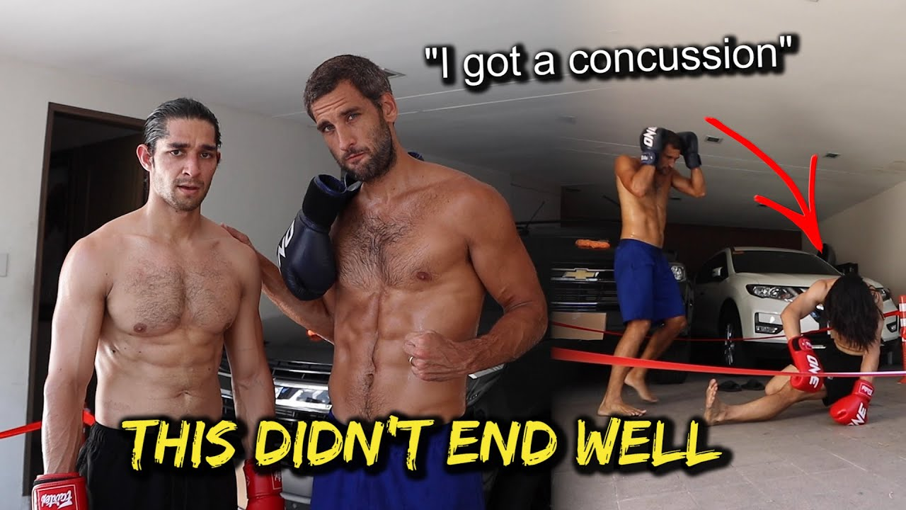 Nico Bolzico vs. Wil Dasovich Professional Fight (GONE WRONG!)