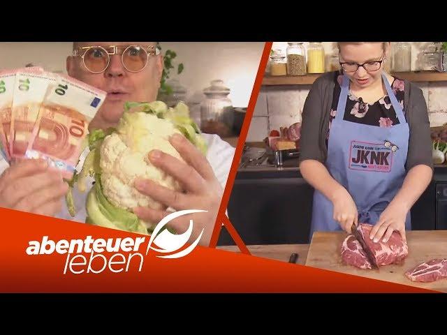 Wiener Schnitzel mit Kartoffelpüree? So bereitet die Jugend es zu!  | Abenteuer Leben | kabel eins