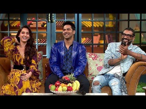 "The Kapil Sharma Show - ""Street Dancer 3D"" Episode | Varun D, Shraddha K,Prabhudeva, Nora F, Remo D"