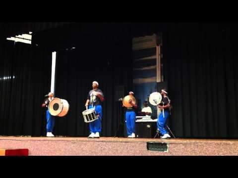 #003 Hamilton High School Drumline.MOV