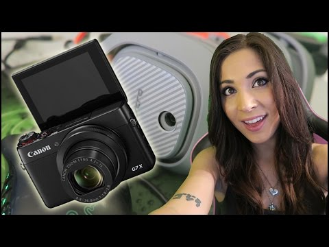 Powershot G7x Unboxing and video test