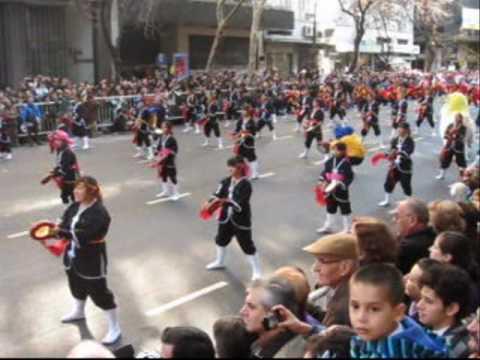 """Desfile Nikkei Bicentenario Argentina 2010 - Matsuri Daiko (""""Nenju"""")"""