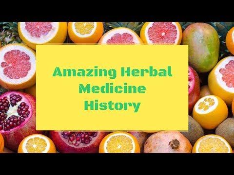 Amazing Herbal Medicine History