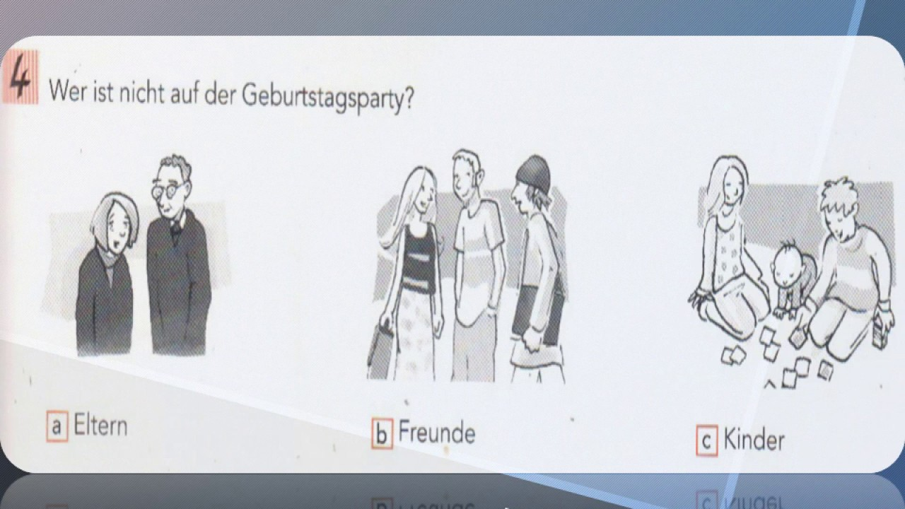 Horen test deutsch start 1 A1 German