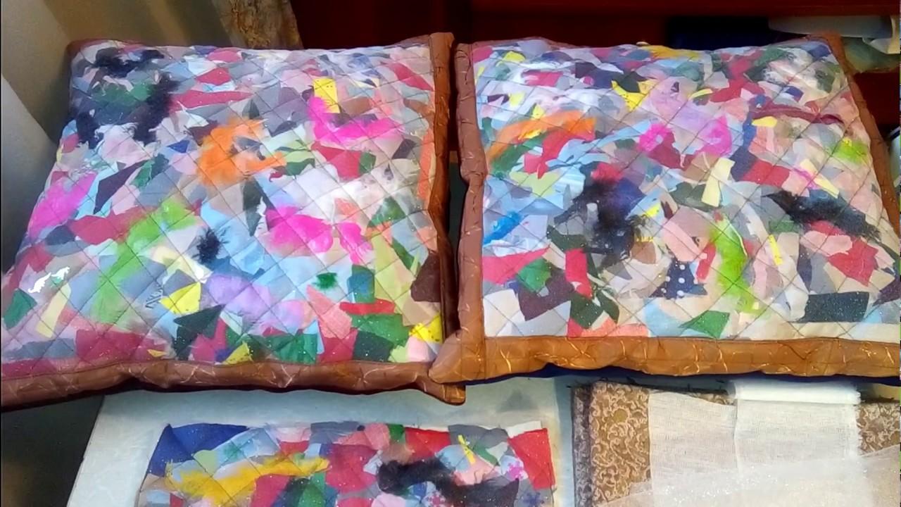 Шьем из лоскутков ткани своими руками фото 57