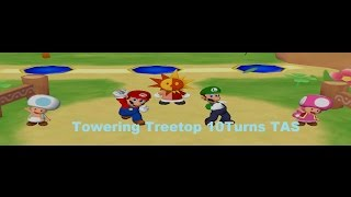 Mario Party 6 Towering Treetop (10Turns) [TAS]