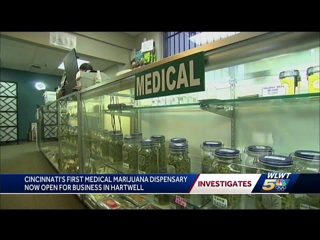 Cincinnati's first medical marijuana dispensary now open for business in Hartwell