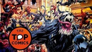 Diferentes versiones de Venom y los simbiontes