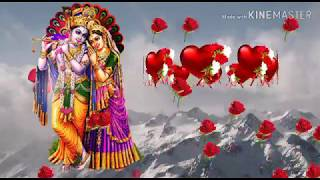 Radha Krishna good morning Wallpaper Video