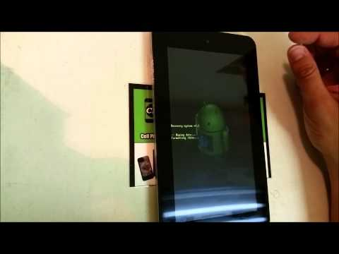 How to ║ Hard Reset HP Slate 7 Tablet ║ Factory Reset