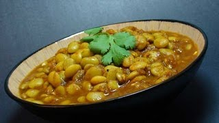 Lima Beans Curry Recipe