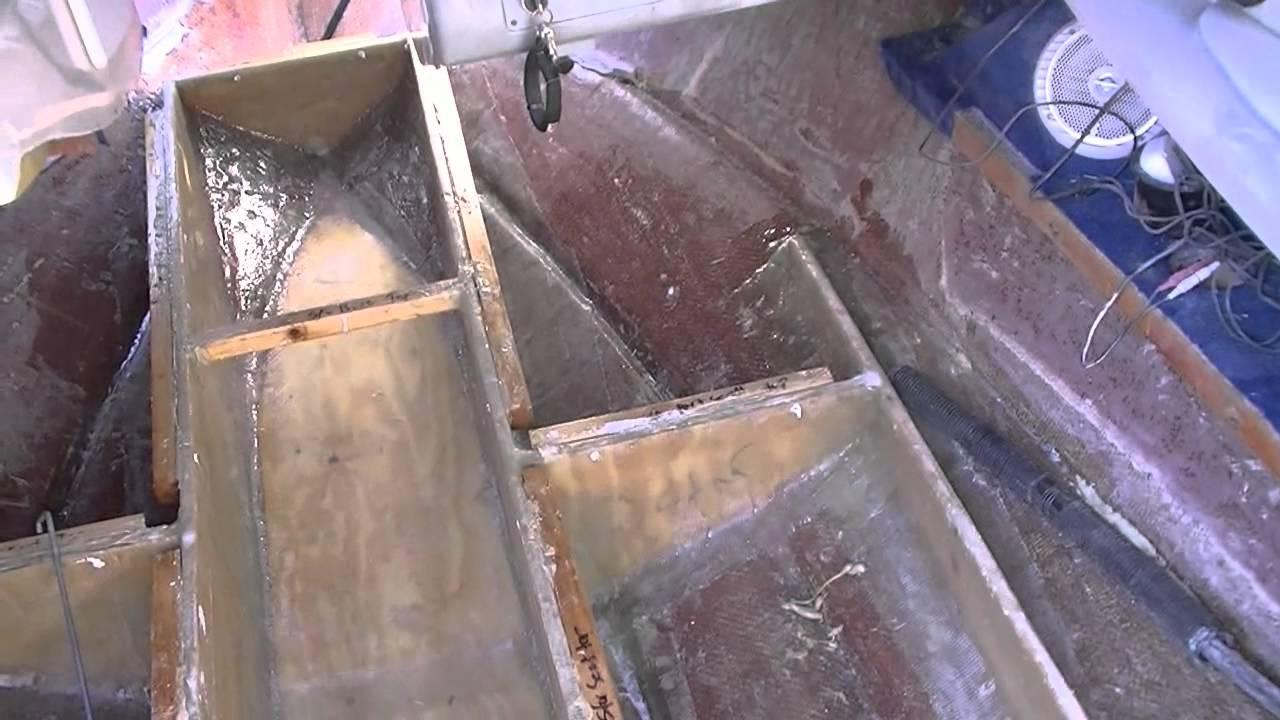 1995 Sea Ray 220 Signature Deck and Stringer Restoration