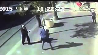 Documentation of Stabbing Attack in Jerusalem