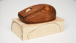 How to Make a Mouse out of Wood