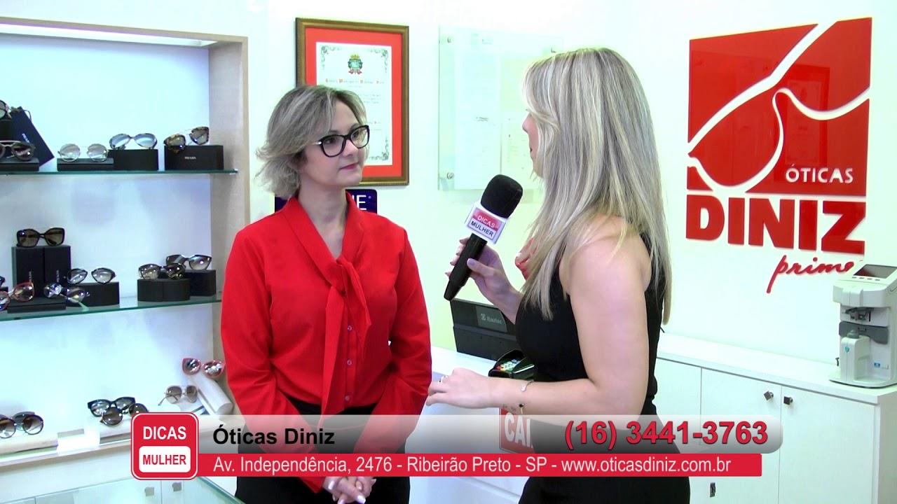 1d69b01abe2b0 Óticas Diniz - Programa Dicas Mulher - 05 11 2017 - YouTube