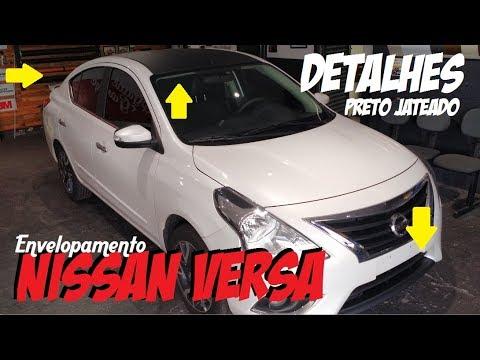 Envelopamento Nissan Versa